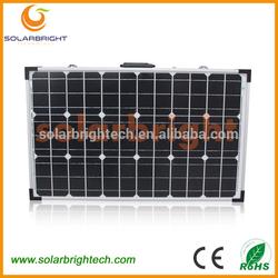 Factory supply Portable outdoor foldable Folding solar panels 100 watt CE,RoHS,TUV,IEC 80W/100W/120W/160W