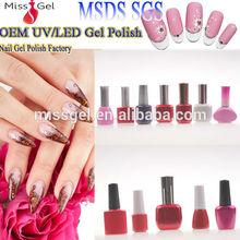 Guangzhou UV gel polish supplier UV gel nail/odorless polish uv gel nail