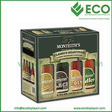 cardboard display box CMYK printing karton box for drink