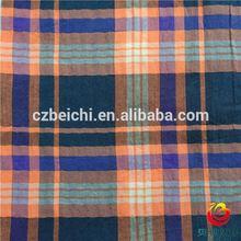 100% cotton yarn dyed poplin fabric stripe design