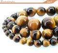 12mm rodada gemstone contas pedra natural preço de atacado olho amarelo tiger nomes de pedras semi preciosas