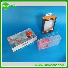Clear PET PVC Box, Printed Plastic Packaging Box, Clear Plastic Box