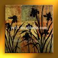 Belle décoration fleur de toile peinture à l'huile
