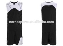 2015 Hot Sale Pro Team Unisex Basketball Uniform Design