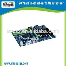N7 miputer atx-i6329a nvr lga1155 placa base intel dvr incorporado industrial tablet de la placa base del ordenador de hardware