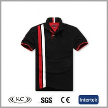 uk good price popular black fashion allover print polo tshirt