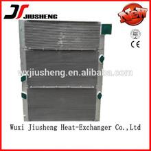 Custom made OEM plate bar China radiator water tank in brazing construction