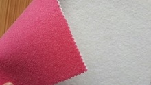 needle punched anti-slip felt mat/polyester felt