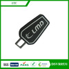 bag metal patch with zipper puller