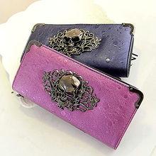 W101 newest fashion designer lady cheap skull clutch chinese purses