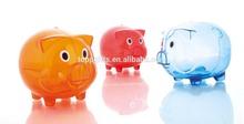 dog banks/bottle coin bank/large plastic coin banks