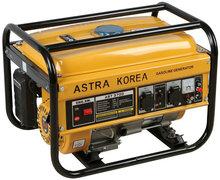 Standard 2kw-6kw portable astra korea hydrogen generator, honda engine, aluminum wire alternator, hand start, good carburator