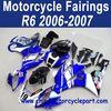 2006 2007 For YAMAHA R6 Hot Sale Motorcycle Fairings Blue Sterilgarda FFKYA010