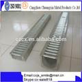 Yüksek kalite drenaj kanalı çelik bar ızgara/siper kapak/hendek kapak
