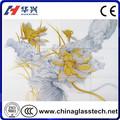 الصين الشهيرة الموردون المعمارية الزخرفية الزجاج الملون