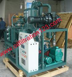 Double-stage High Vaccum Transformer Oil Purifier Machine