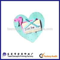 Fancy Heart Shaped Handmade Invitation Card Attractive