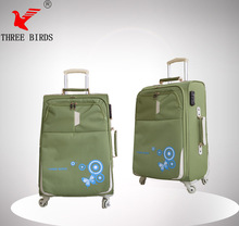 Best selling suitcase type build-in caster luggage cart, hotel luggage cart bag, airport luggage cart for promotion