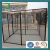 Black coating wire mesh fancy dog kennels sale