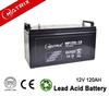 Solar sealed lead acid battery 12v 120ah for solar street lighting products