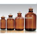 De color ámbar de moldeado por inyección viales de antibióticos/botella de vidrio ámbar