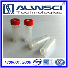 Manufacturing snap vial with insert, pp cap