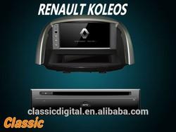 classic digital koleos renault car dvd radio with gps bluetooth dvd full function