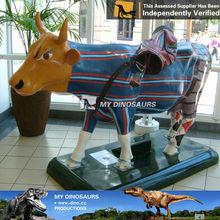 My Dino-animal park animal lighter attraction park equipment cow fiberglass