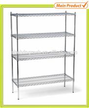 4 Tiers Adjustable Home Office File Rack Furniture