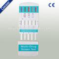 Certifié ce one step rapid drogues d'abus test d'urine kit de diagnostic in vitro