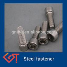 Grade 5 Titanium Allen hex socket tapered cap screws