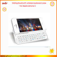July new arrival Bluetooth keyboard for Apple iphone 5 5S turkish language 2014 new promotional products