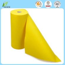 Resuable needle punch nonwoven fabric cleaning yellow duster cloth