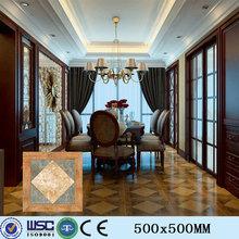 H53D502 500x500mm square wood porcelain floor tile