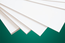 super smooth surface and good flatness PTFE teflon sheet for Germany marketing