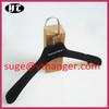 VPL1994 wholesale hanger velvet black wedding dress hanger