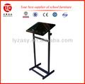 ajustável mesa da escola e cadeira escolar mobiliário moderno púlpito
