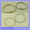 Bulk belt buckles, round buckle, metal O-ring