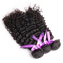 most popular 100 real virgin hair European yaki deep wave weaving