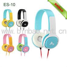 headphones custom logo wired On-Ear Headphones ES-10