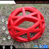 2014 best selling stuffed house flower rubber ball dog toy