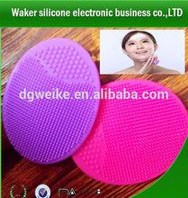 Silicon Facial Brush Cleansing Pad Exfoliator Blackhead Remover Unisex Skin
