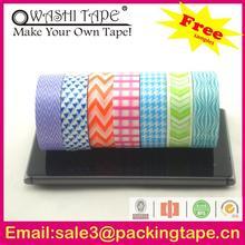 Custom fabric stiffeners with washi tape made in China SGS