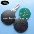 topbest smart controle 3 auto botão remoto chave 433 mhz para mercedes benz chaves do carro