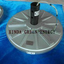 5kw 100 rpm axial do fluxo magnético permanente pmg gerador de turbina de vento vertical