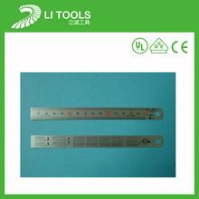 Alta qualidade 15 cm régua de aço inoxidável
