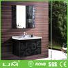 with ribbon handle mirror european style bathroom mirror cabinet