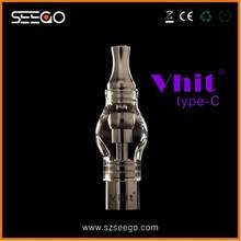 Top ecig brand Seego Vhit Type C dabber glass-globe pen vaporizer