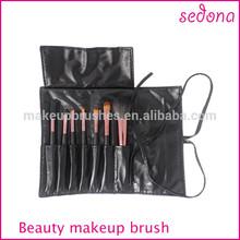 7pcs prefessional cosmetic makeup brush kit, hot sale cosmetic makeup brush set