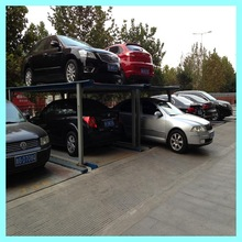 3 Floor CE Pit 4 Post Mechanical Auto Car Parking Lift System